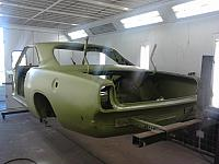 Rear view in etch primer